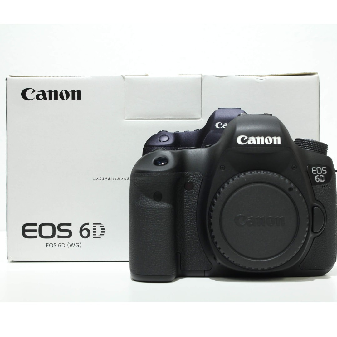 Canon EOS 6D DSLR Body Only (99.99% Like New, SC: 125 Only)