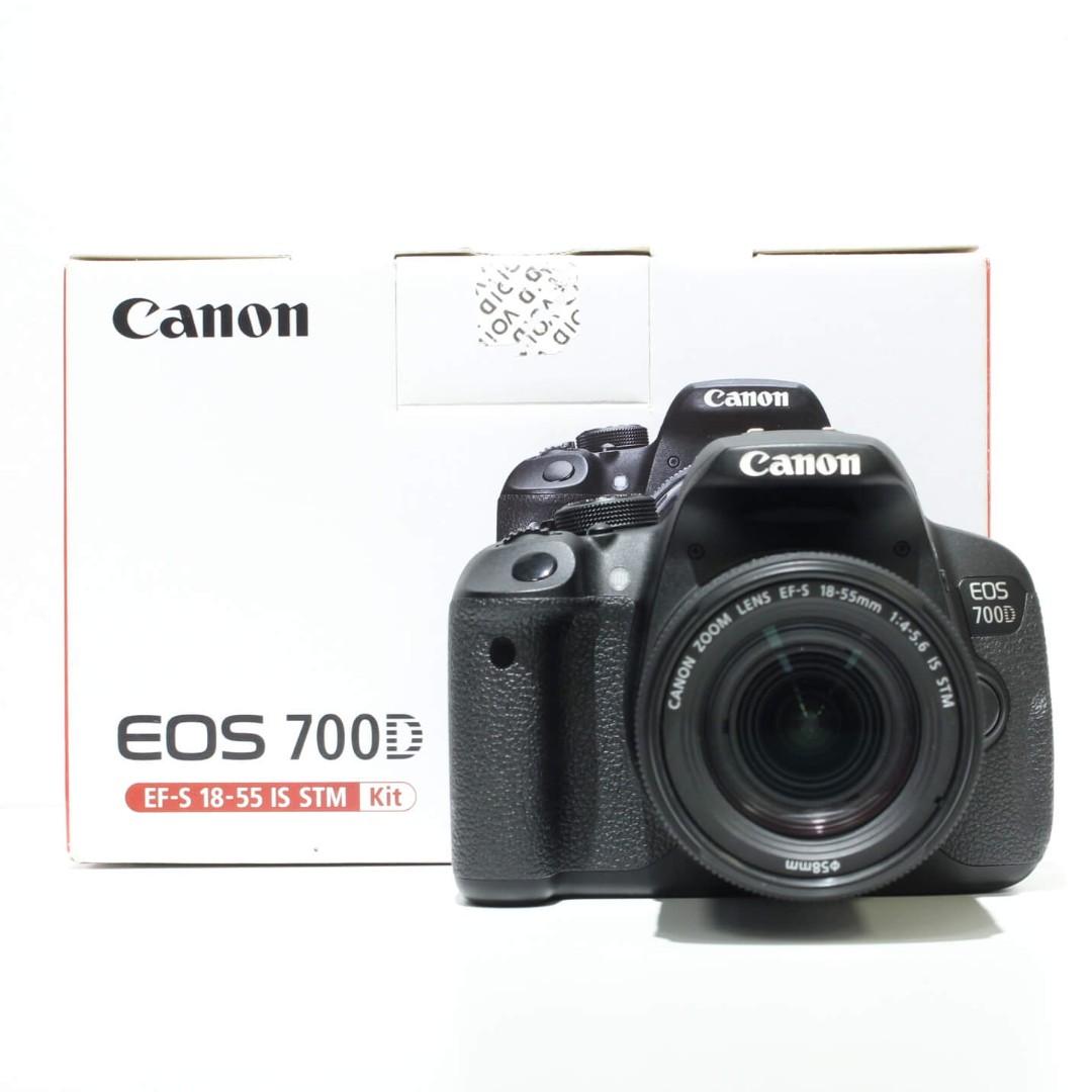 Canon EOS 700D Kit 18-55mm STM Lens