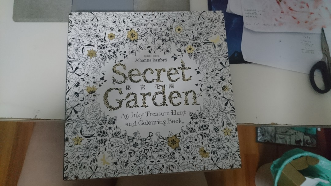 Colouring Book Secret Garden Enchanted Forest Books Stationery