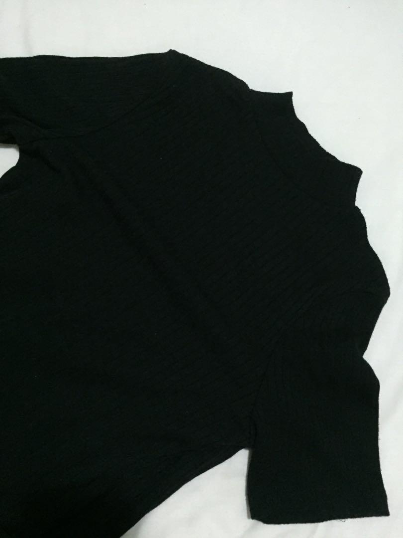 cbc4134a512a Black T Shirt Dress Cotton On | Top Mode Depot
