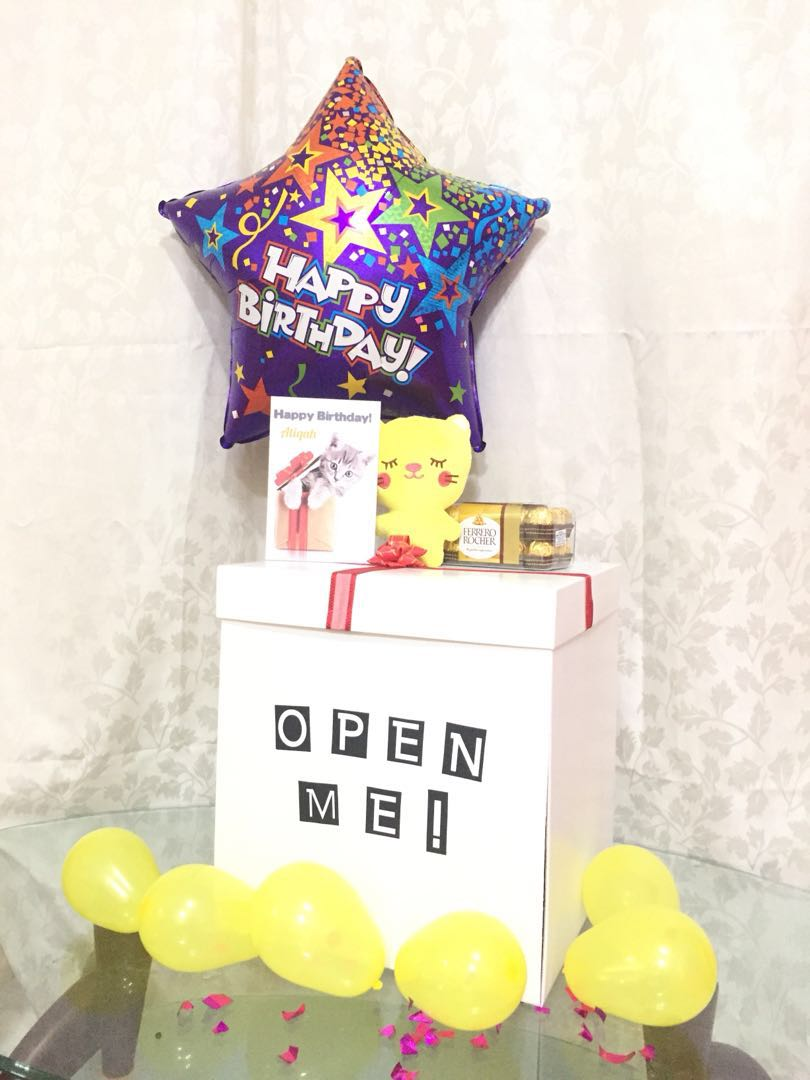 Customised Birthday Present