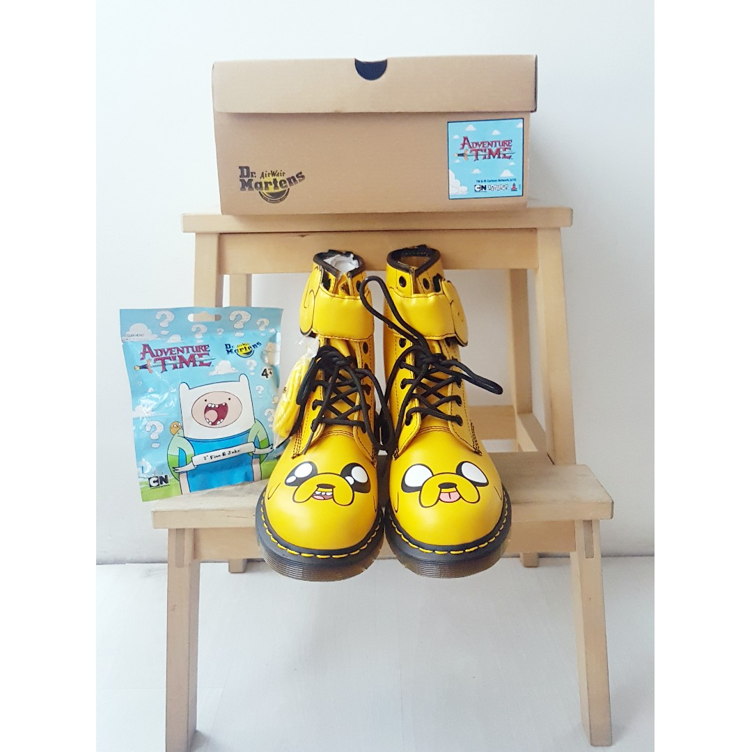 Dr. Martens x Adventure Time Jake the Dog Boots 4fec139722