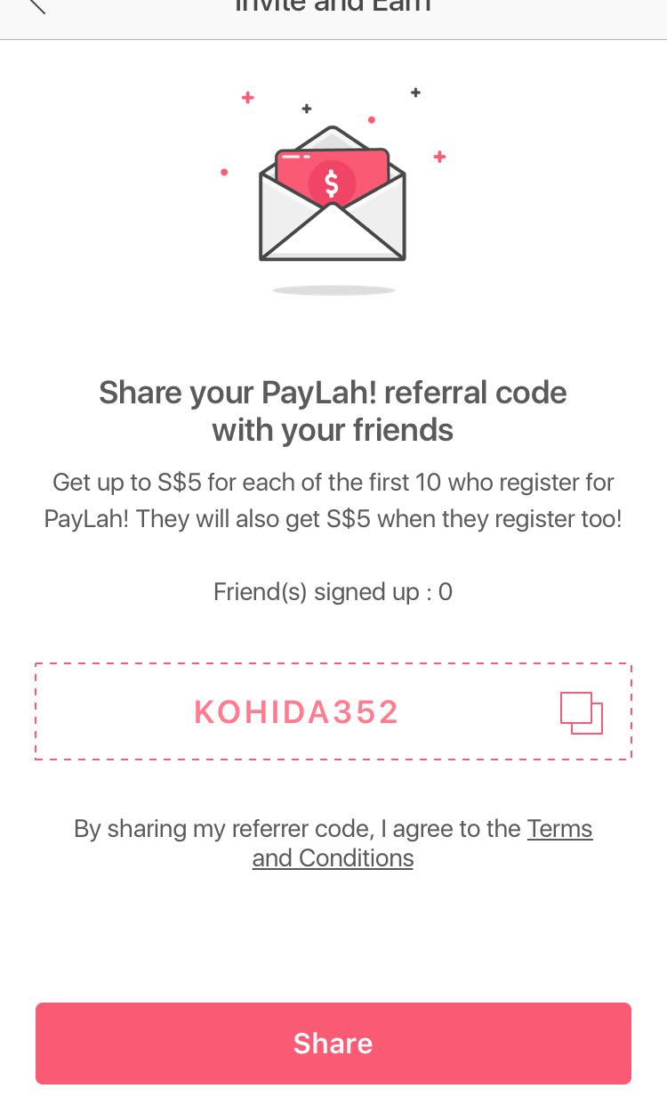 FREE $5 DBS PAYLAH PROMO CODE, Everything Else on Carousell