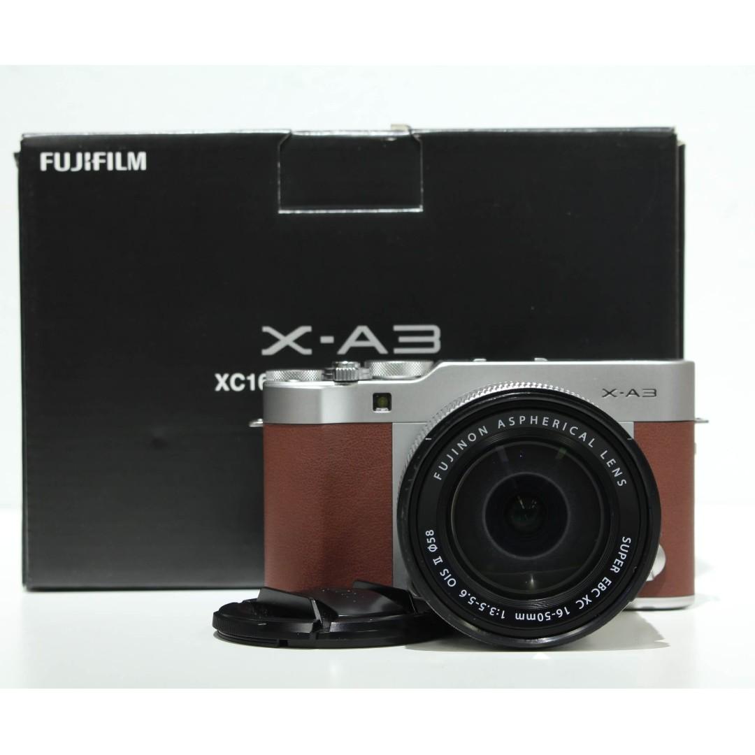 Fujifilm X-A3 Mirrorless with 16-50mm OIS II Kit Lens (99.99% Still under Fuji MY Warranty)