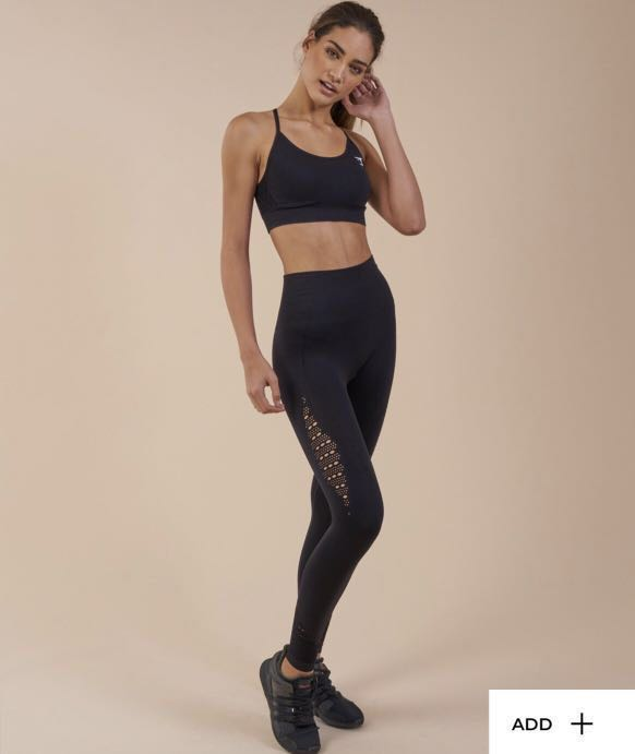 aeb66fe03b Gymshark Seamless Energy Leggings Size M, Sports, Athletic & Sports ...