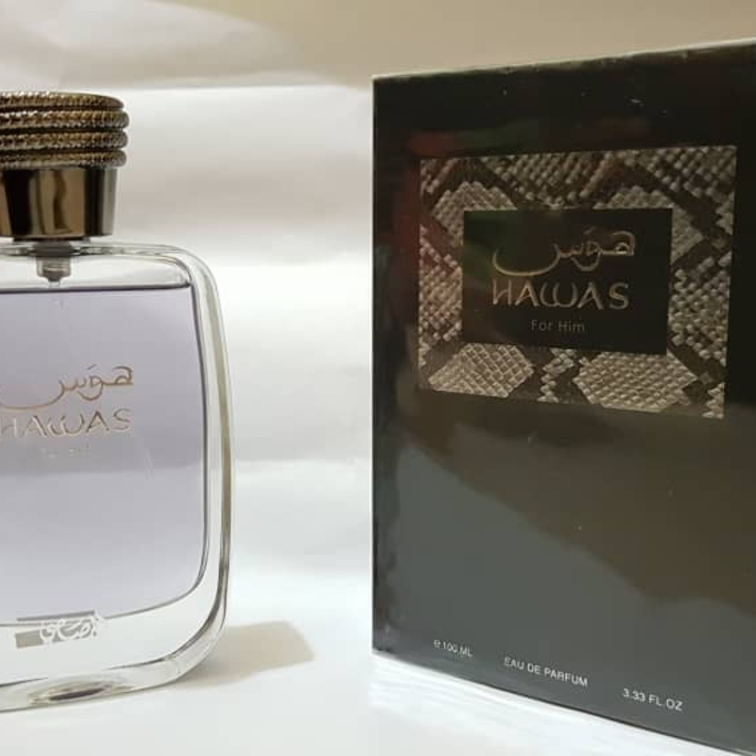 554f54ac94 Hawas for Him by Rasasi, Health & Beauty, Perfumes, Nail Care, & Others on  Carousell