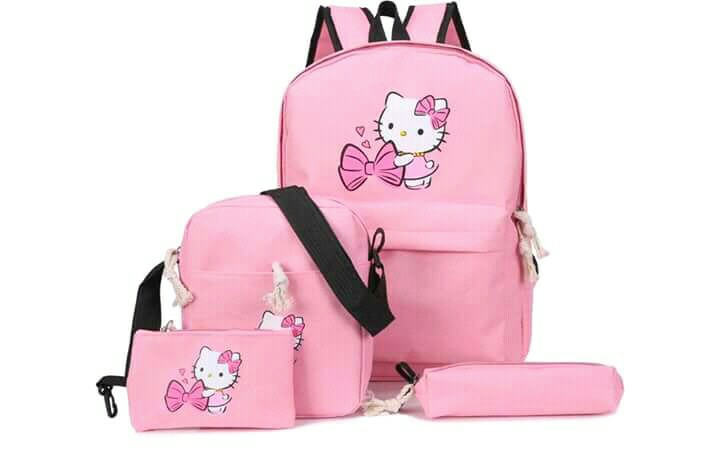 Hello kitty 4 in 1 Bagpack, Women s Fashion, Bags   Wallets on Carousell c07b2f05af