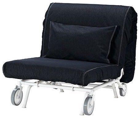 Ikea Sofa Bed Single With Wheels, Single Seat Sofa Beds Ikea