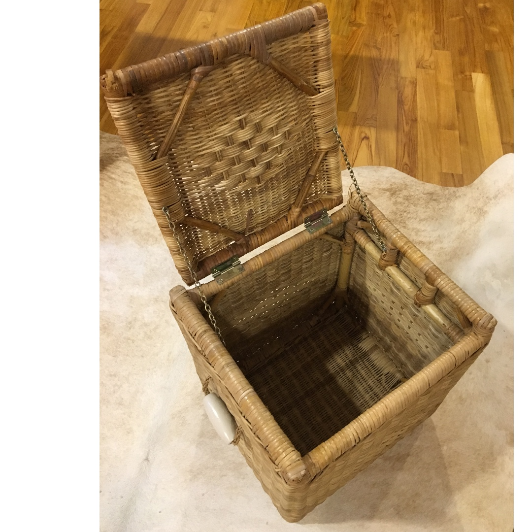 Ikea Wicker Basket Furniture Home Decor Others On Carousell
