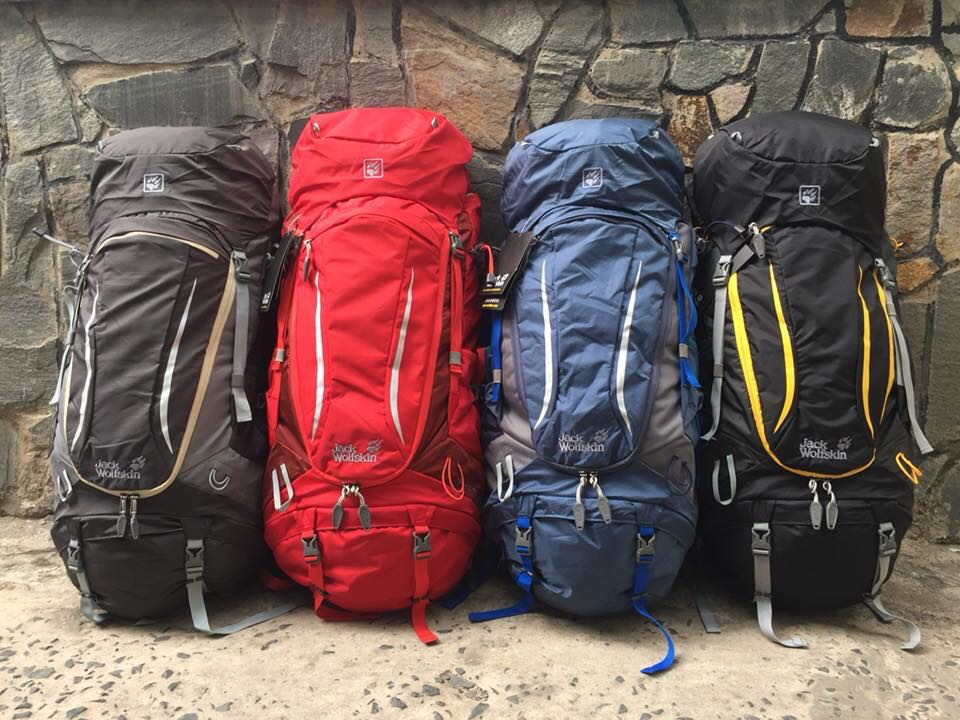 84d08fe5afa Jack wolfskin Highland trail xt 50, Travel, Travel Essentials, Outdoor &  Camping on Carousell