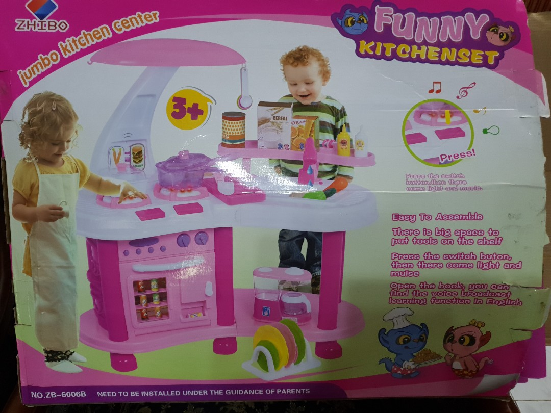 Kitchen Set Anak Bayi Anak Mainan Baby Walker Di Carousell