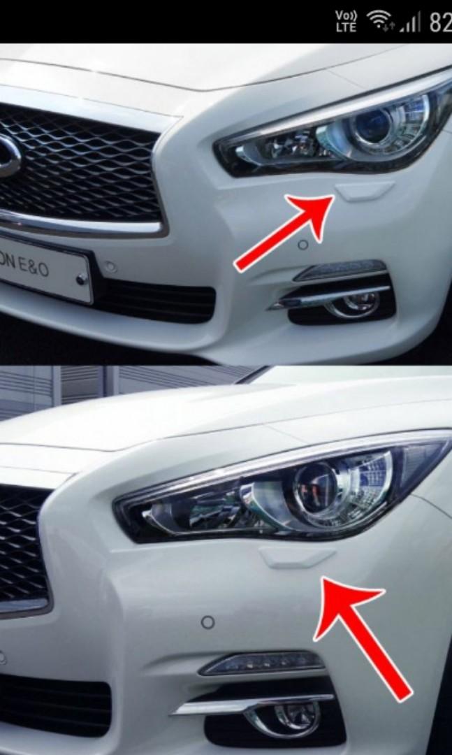 HONDA / KIA / HYUNDAI / BMW - 'Brenthon' Bumper Detail Tip (White)