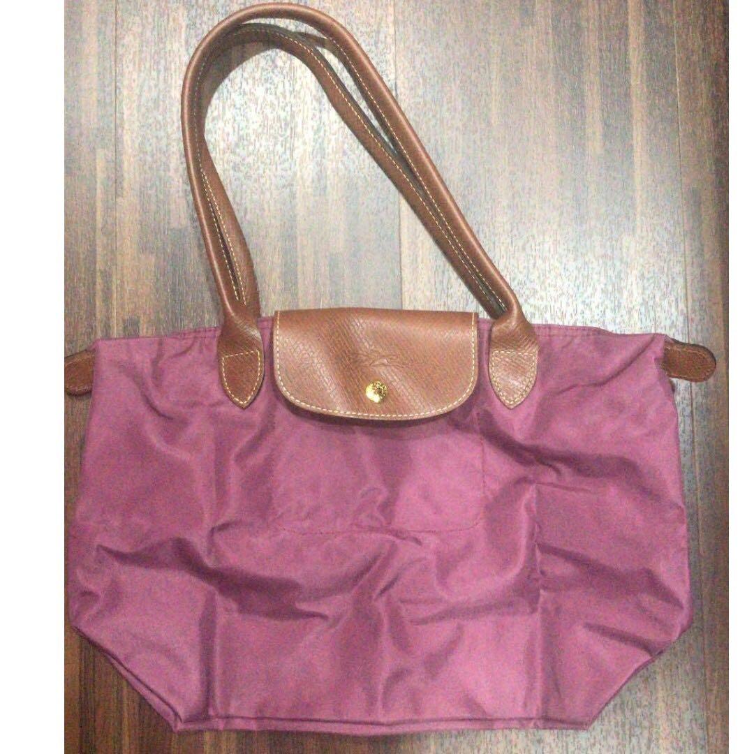 Longchamp Le Pliage Tote Bag Womens Fashion Bags Wallets Neo Ruby Sz Small Handbags On Carousell