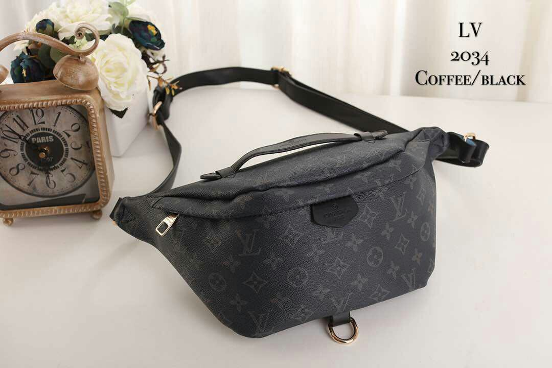 3c2536e8a Louis Vuitton Bumbag Monogram Graphite, Luxury, Bags & Wallets on Carousell