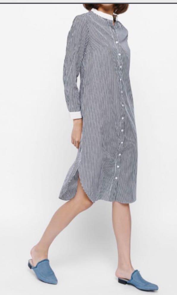 a6a1ad7ea29 Love Bonito Dionda striped shirt Dress xs