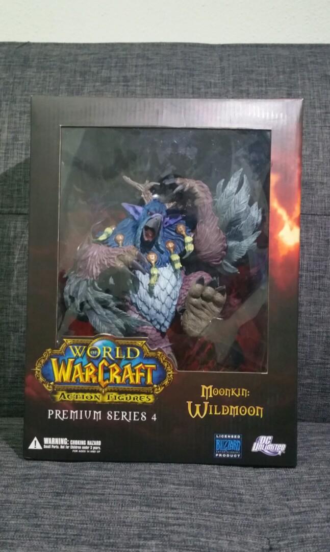 Wildmoon Action Figure Moonkin DC Unlimited World of Warcraft Premium Series 4