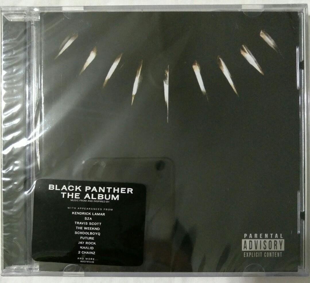 Music Empire] Black Panther - Original Movie Soundtrack OST CD Album ...