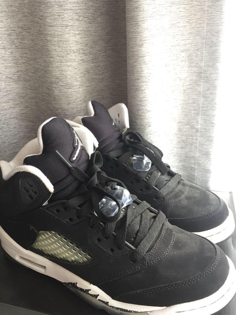 58043d08306 Nike Air Jordan 5 Retro (GS) Oreo