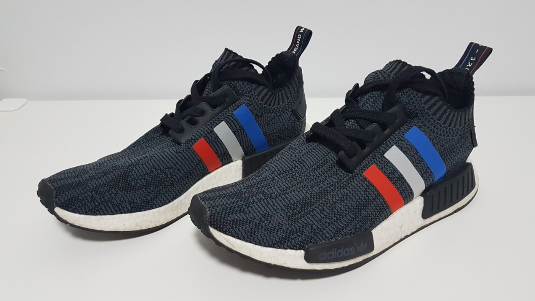 online store c97e2 3e0de Original Used Adidas NMD R1 PK UK8, Luxury, Shoes on Carousell