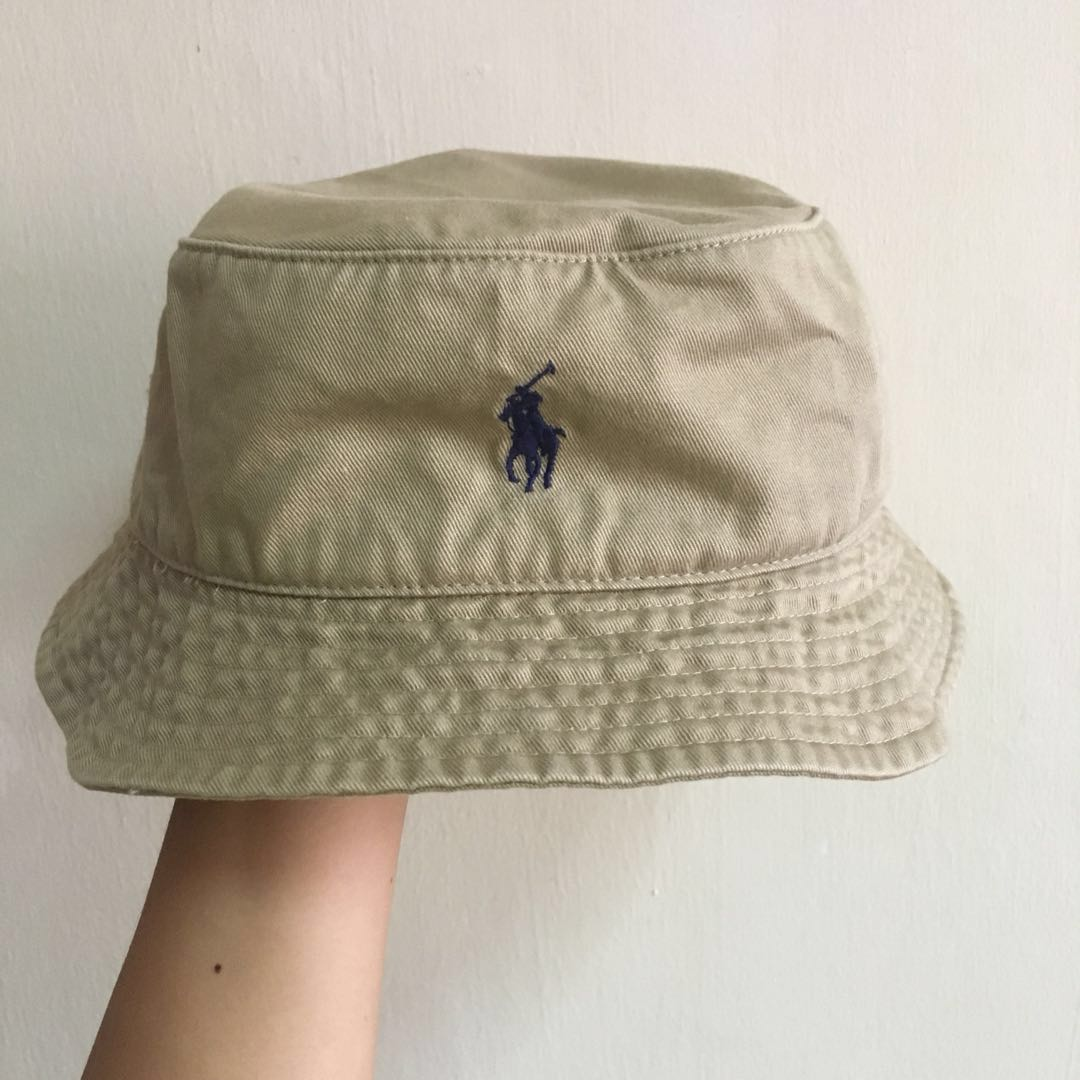 defbba9e97919 Polo Ralph Lauren Bucket Hat in khaki