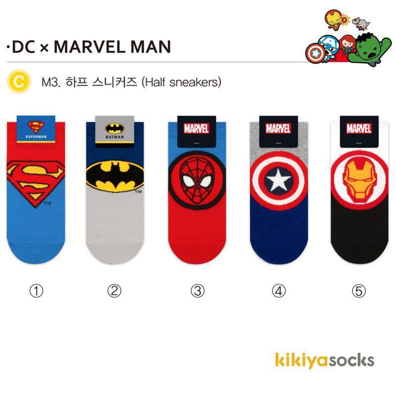 b487ab83d99e Pre Order Superhero Socks, Men's Fashion, Accessories, Socks on ...
