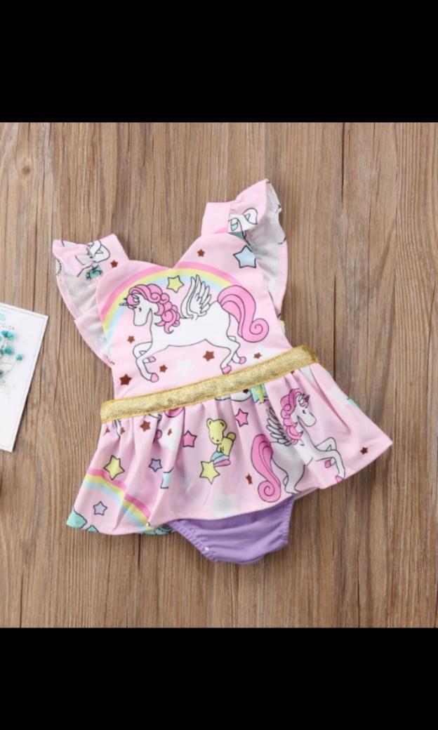 Baby Girl Unicorn Romper [ Pre Order ]
