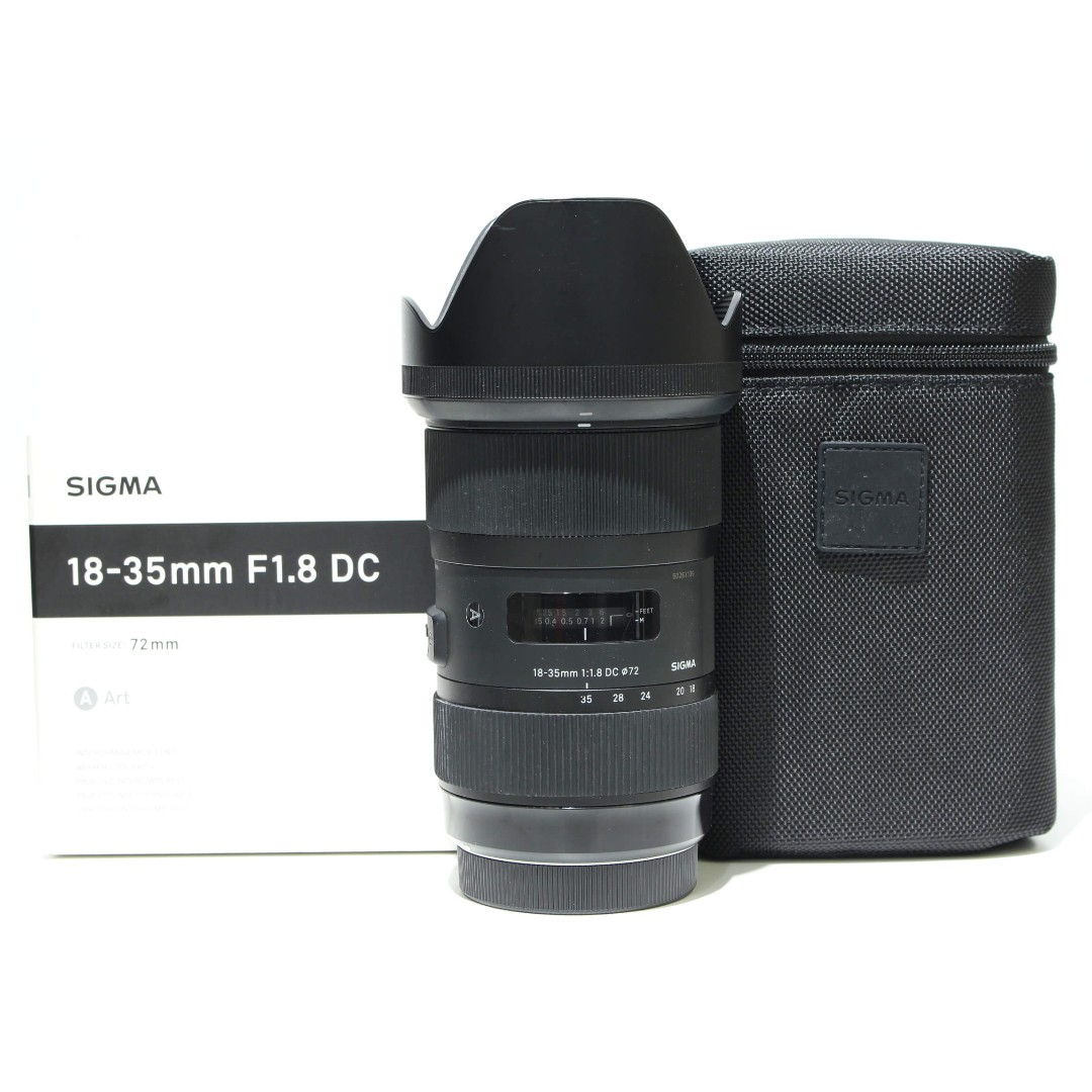 Sigma 18-35mm F1.8 DC HSM ART Lens For Canon Mount