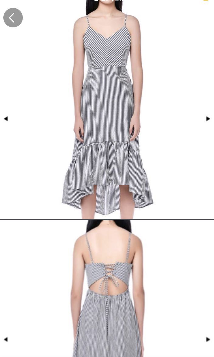 639fc7ad21 TEM charlotte midi stripe dress