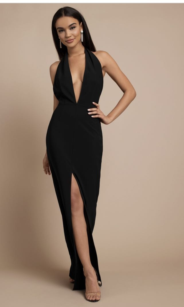 e799f255836 TOBI gala dress, Women's Fashion, Clothes, Dresses & Skirts on Carousell