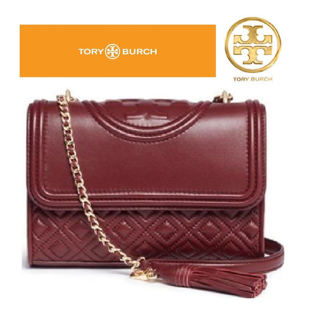 2a0e0cdf660 TORY BURCH Fleming Convertible Shoulder Bag ( Red ) 2 sizes, Women's ...