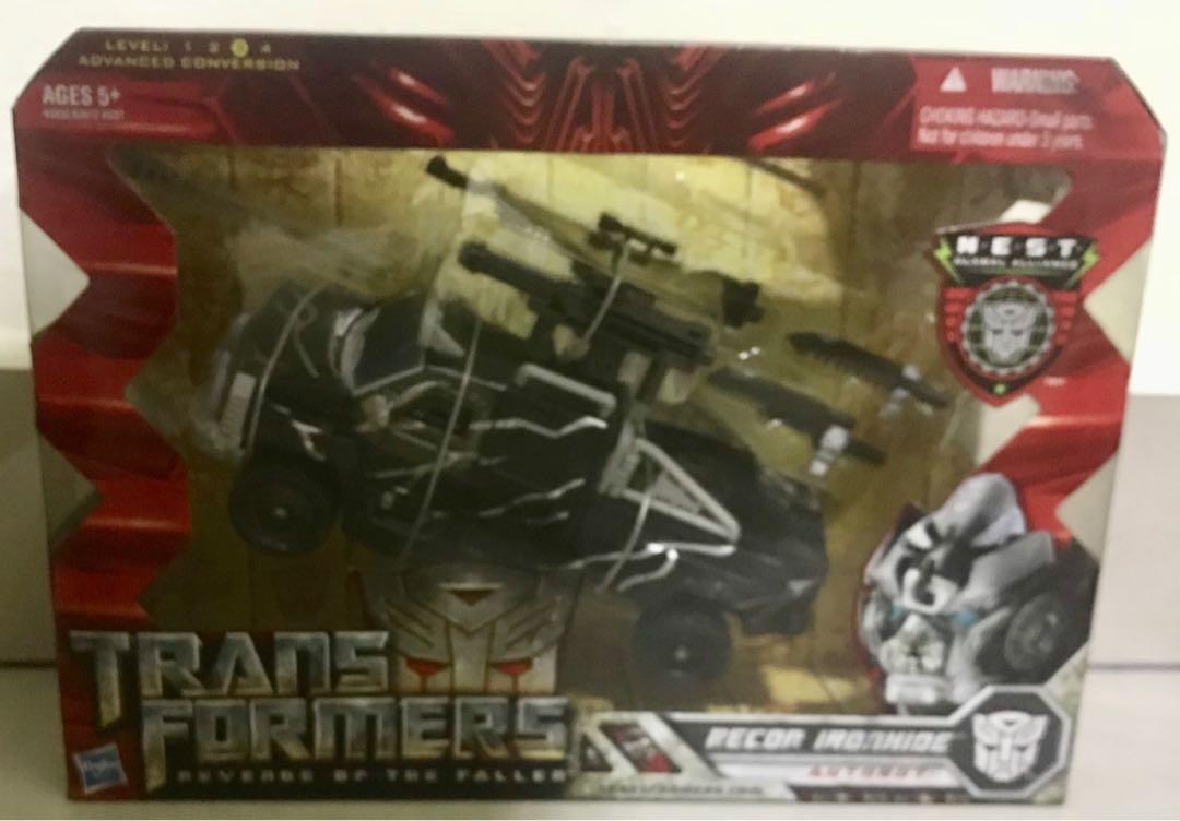 Transformer Recon Ironhide