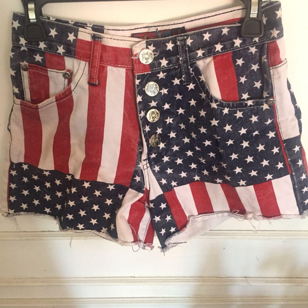 USA Flag Tumblr Jeans 🇺🇸