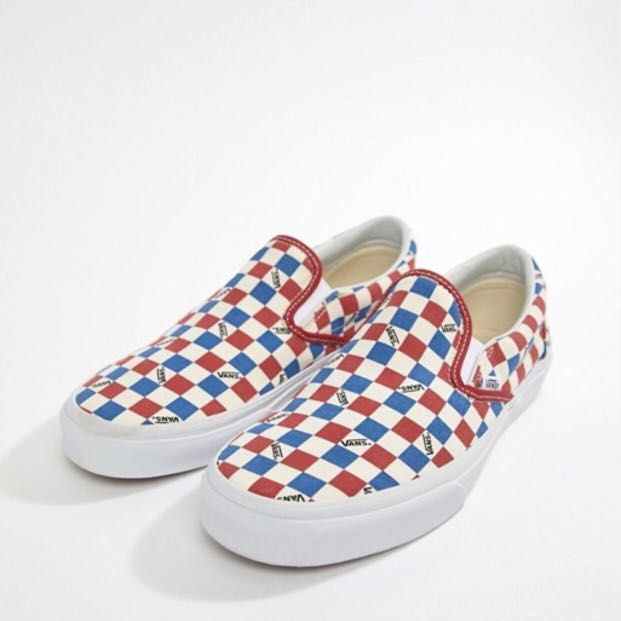 a3050fc197a Vans Factory Pack Classic Checkerboard Slip On