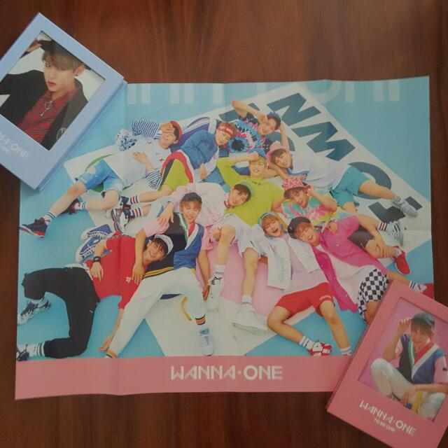 Wanna One TO BE ONE Pink VER. Poster
