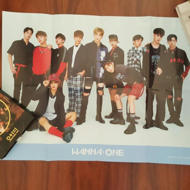 Wanna One TO BE ONE Sky Ver. Poster
