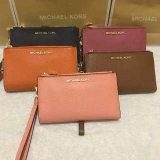 Authentic Michael Kors Adele Wristlet