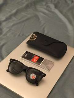 Rayban 2140F 太陽眼鏡 Wayfarer Polarised Asian Fit