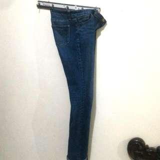 Jeans UNIQLO blue