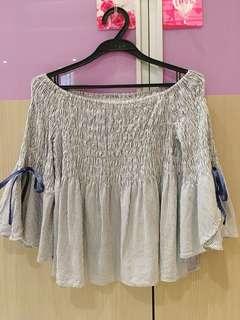 🚚 Dazzlin蝴蝶袖造型