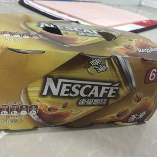 雀巢咖啡6罐裝