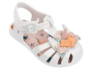 Mini Melissa Aranha unicorn size Us7