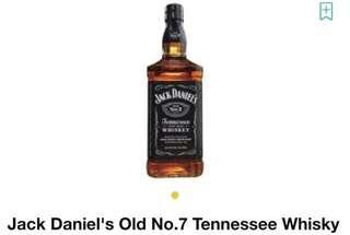 Jack Daniel Whisky 1L