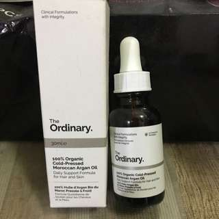 The Ordinary Argan Oil