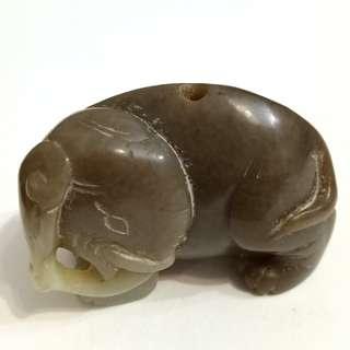 Old Jade Stone Craving 老玉石雕刻