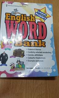 Vocabulary - English Wordbank