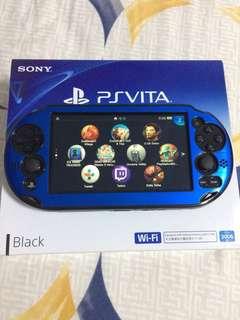Mint Ps Vita Black WiFi 2006