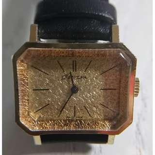 古董 Enicar 女裝上鍊金錶