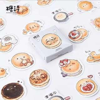 [ST] Boxed Stickers: Cute & Fluffy Pancakes