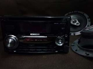 Kenwood dpx-u77 speaker pintu sony 120w made in japan