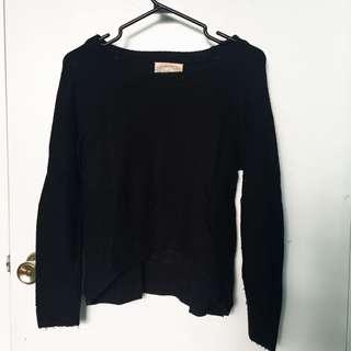 Black Knit Sweater